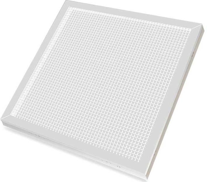 Потолочный светильник LLT, 36 Вт упаковка 4 шт панелей светодиодных lpu призма pro 36вт 230в 6500к 2800лм 595х595х19мм белая ip40 llt