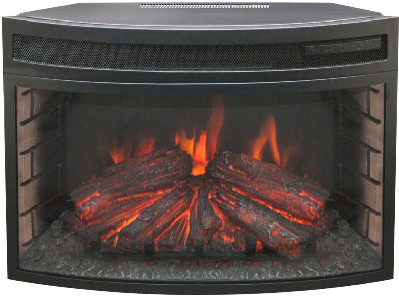 Электроочаг RealFlame Firefield 25 S IR, цвет: черный realflame электроочаг realflame leeds 33 ddw