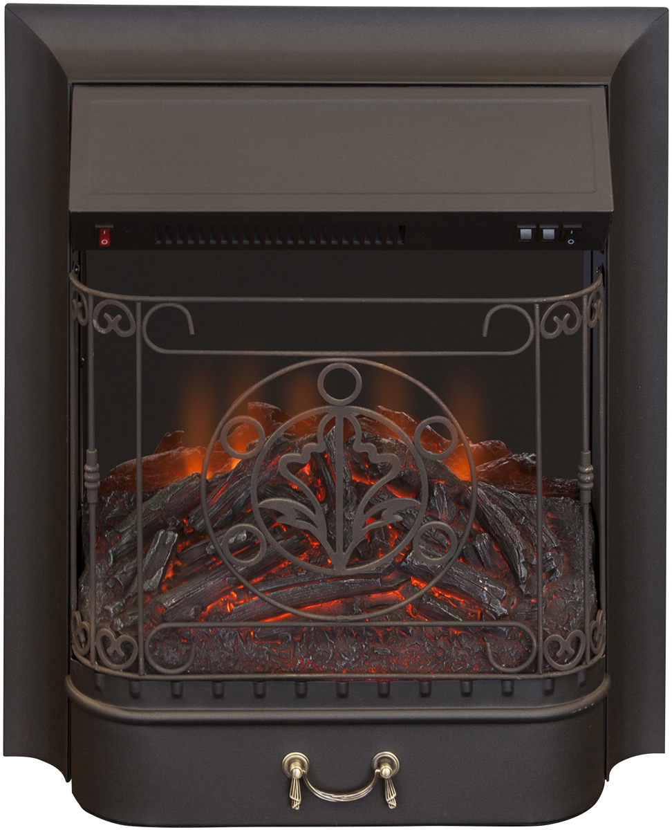 Электроочаг RealFlame Majestic Lux Black, цвет: черный realflame электроочаг realflame leeds 26 sd
