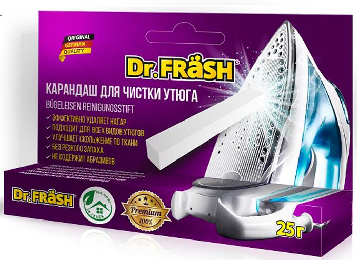 Карандаш для чистки утюгов Dr.Frash, 25 г карандаш для чистки подошвы утюга top house 32 г