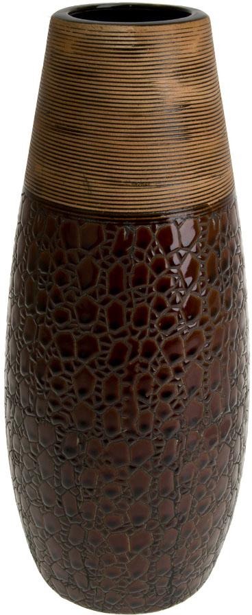 """Ваза декоративная ArtHouse """"Шоколад"""", цвет: коричневый, высота 35,5 см"""