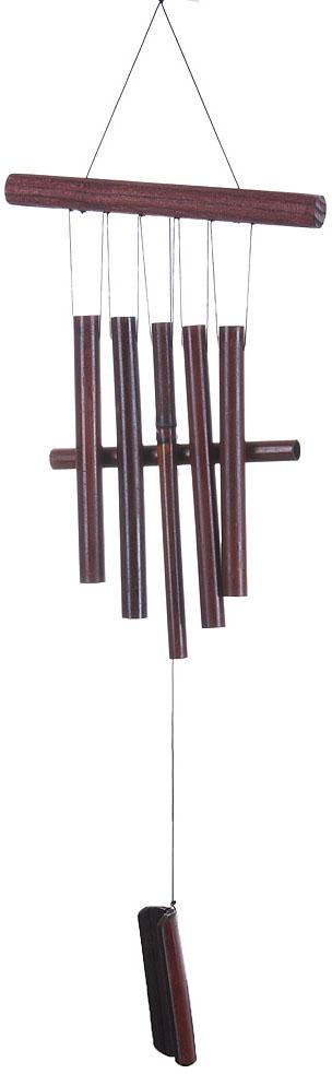 Украшение декоративное Музыка ветра, цвет: коричневый. 3330041 украшение декоративное музыка ветра цвет коричневый 3330041