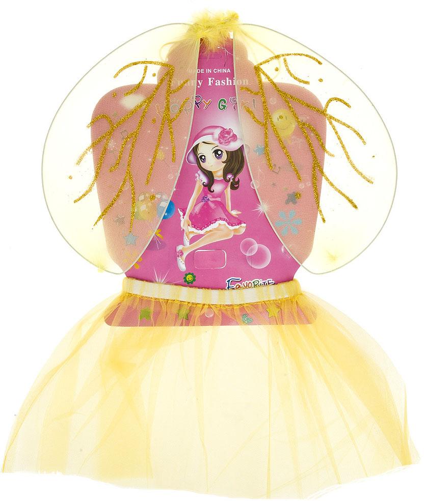 цена на Костюм карнавальный ENS Group Лесная фея, крылья и юбка