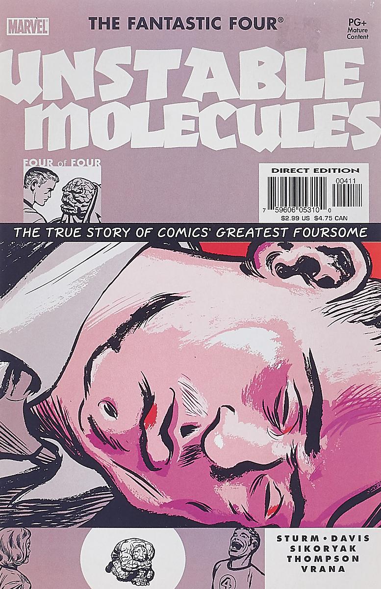 Sturm, Davis, Sikoryak Fantastic Four: Unstable Molecules #4 escentric molecules wallpaper paper passion