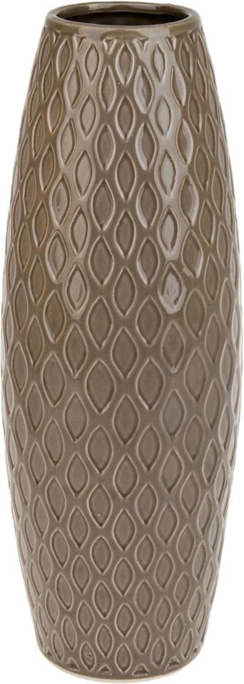 Ваза декоративная ArtHouse Пастель, цвет: коричневый, высота 39 см ваза декоративная arthouse шоколад цвет коричневый высота 29 5 см