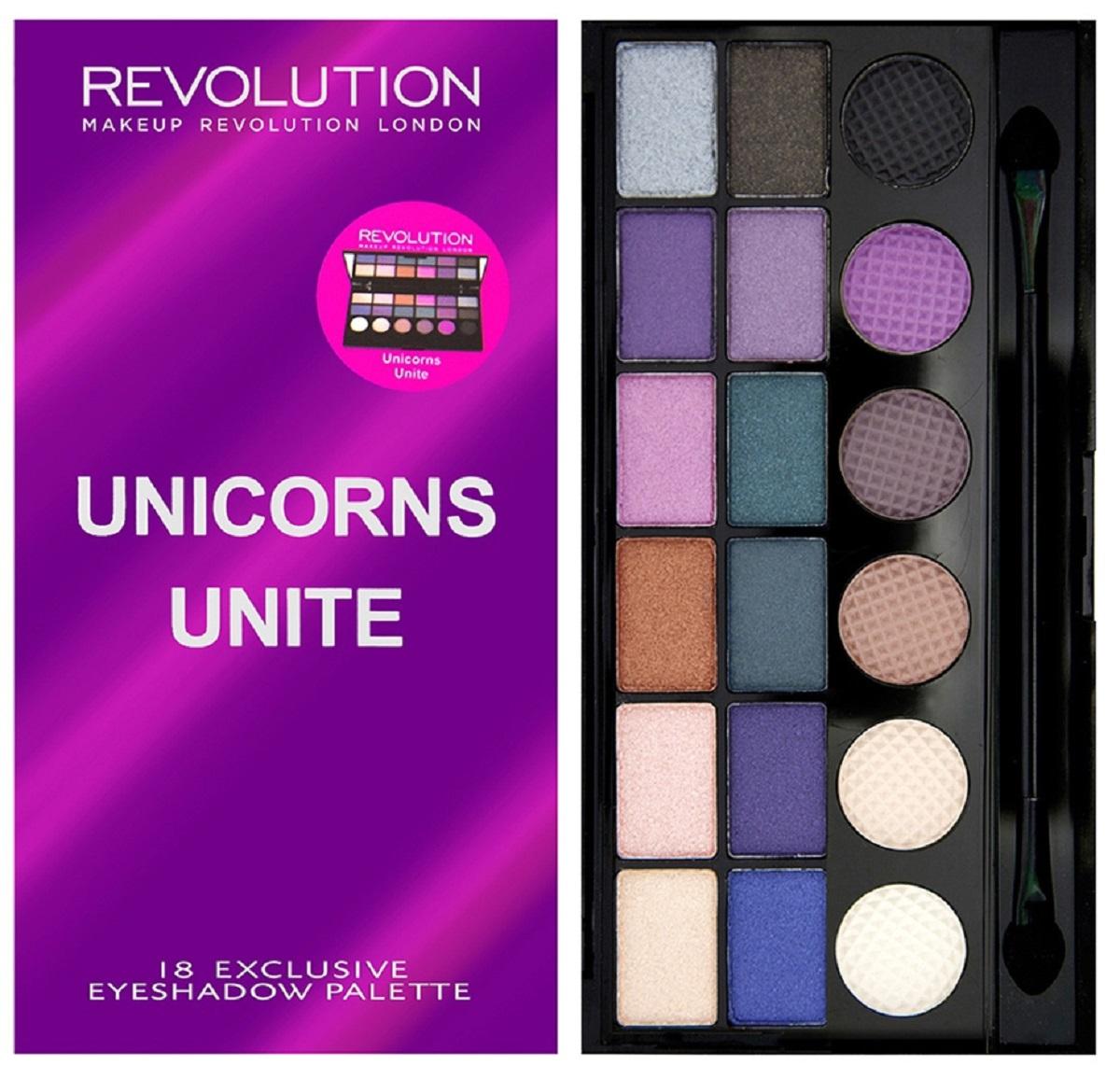 цена на Makeup Revolution Палетка теней Salvation Palette Unicorns Unite