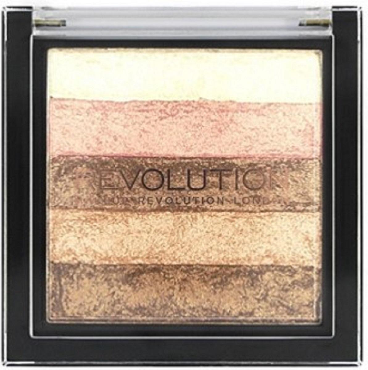 Makeup Revolution Хайлайтер Vivid Shimmer Brick Radiant хайлайтер ultra strobe and light makeup revolution лицо