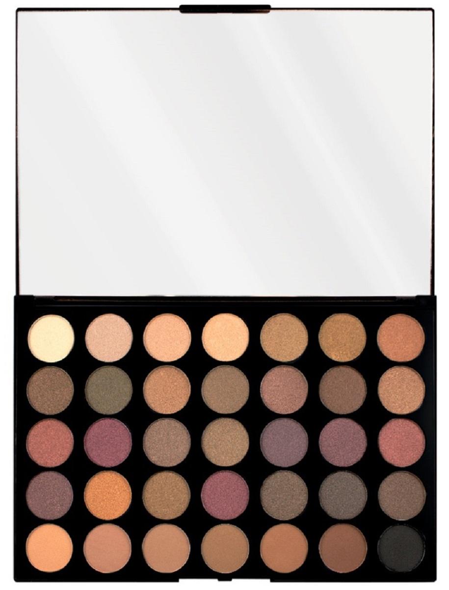 цена на Makeup Revolution Палетка теней Pro Hd Palette Amplified 35 Luxe