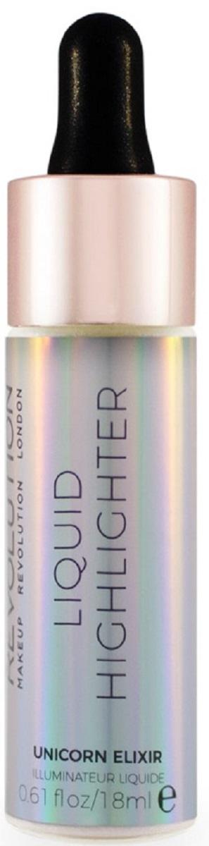 Makeup Revolution Жидкий хайлайтер Liquid Highlighter Unicorn Elixir