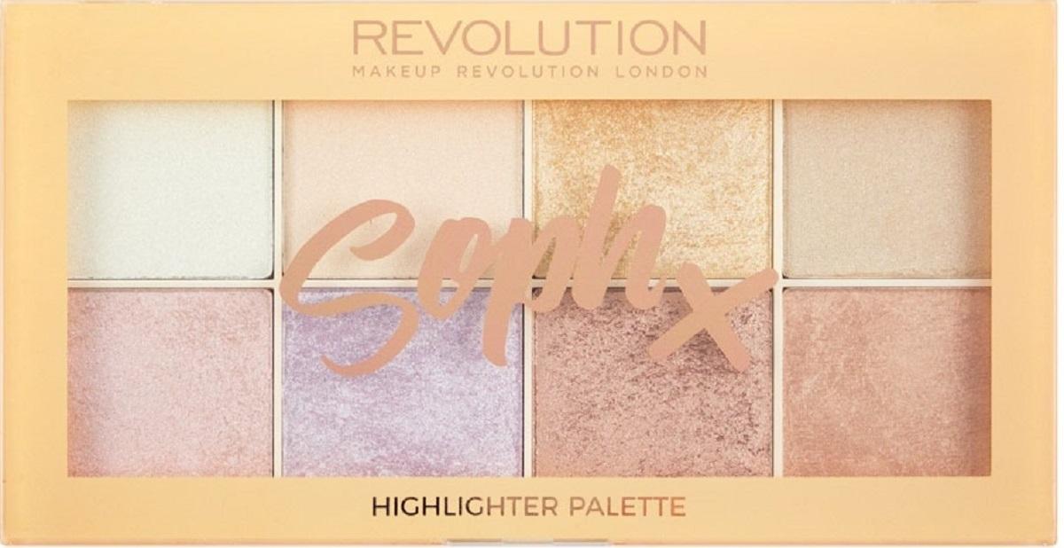 Makeup Revolution Хайлайтер Soph Highlighter Palette