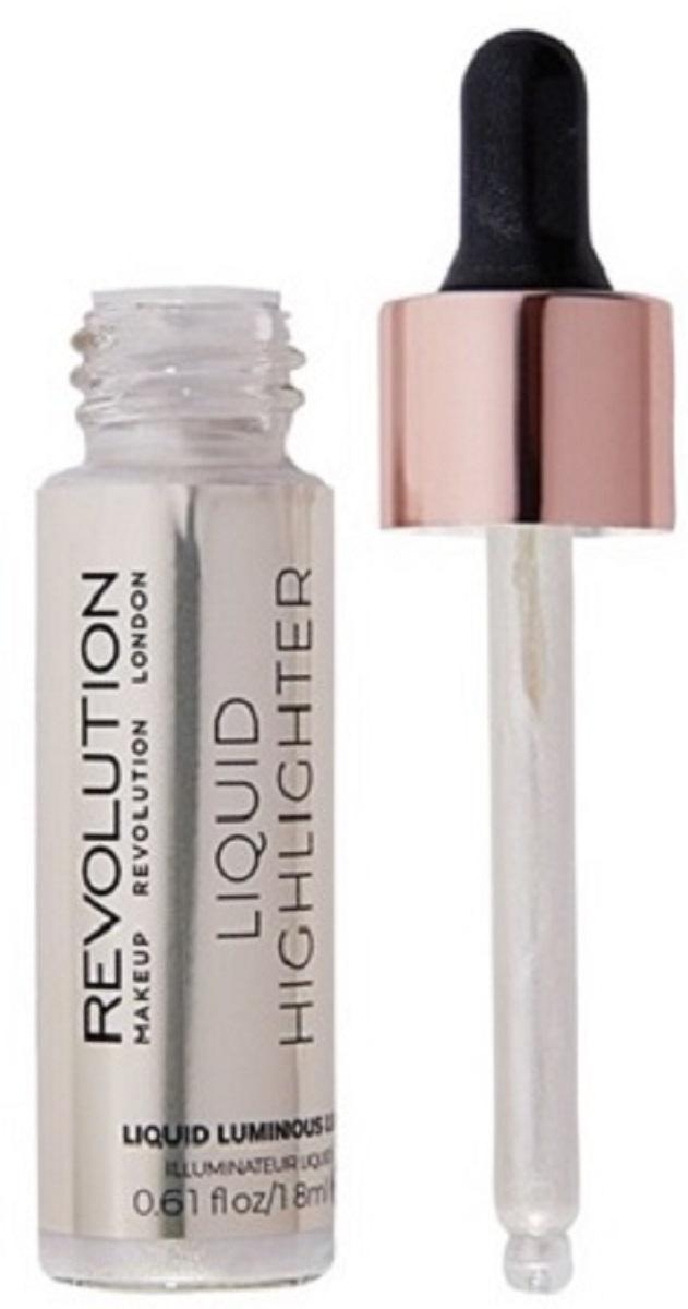 Makeup Revolution Жидкий хайлайтер Liquid Highlighter Liquid Luminous Luna