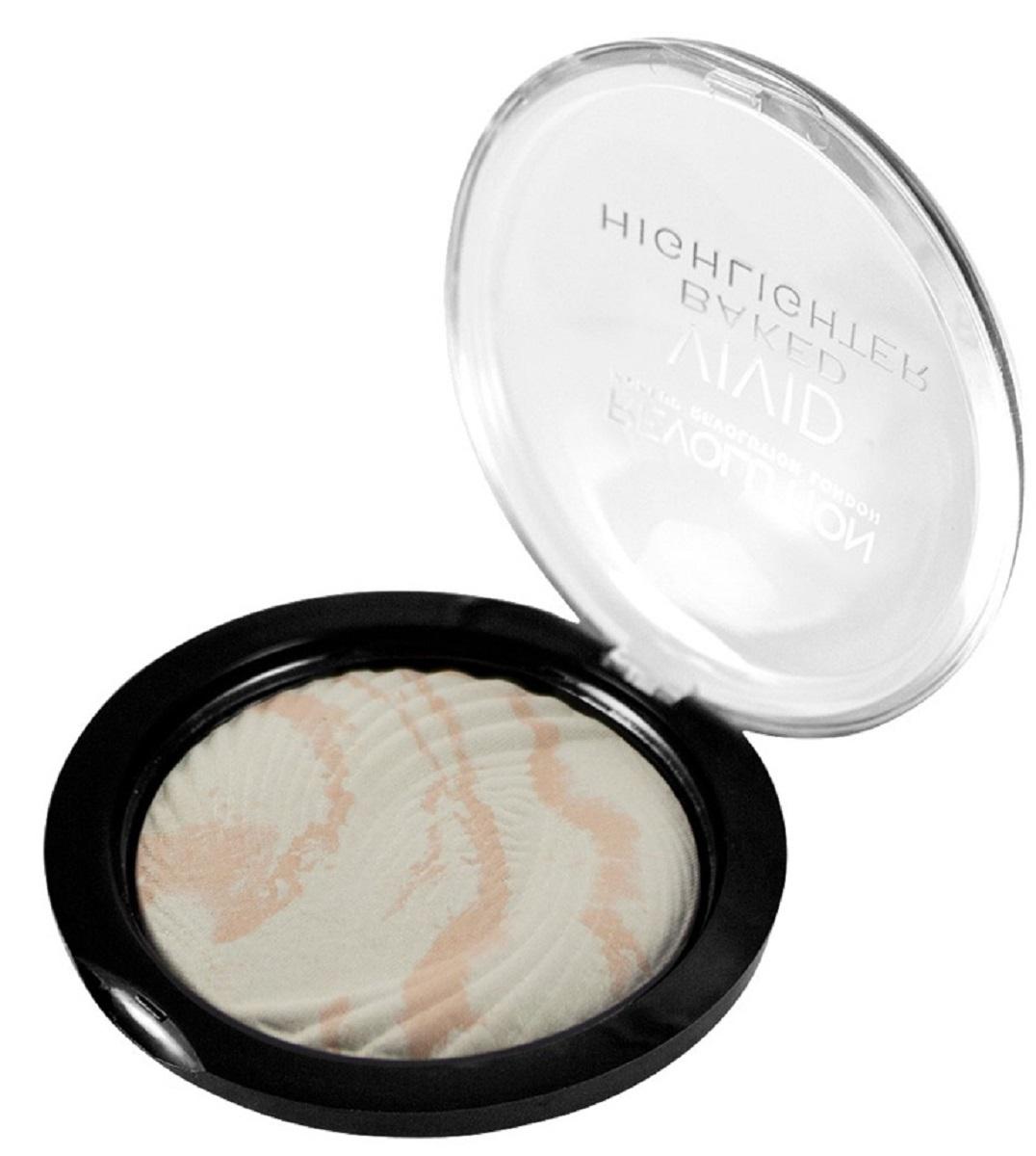 Makeup Revolution Хайлайтер Vivid Baked Highlighters Matte Lights