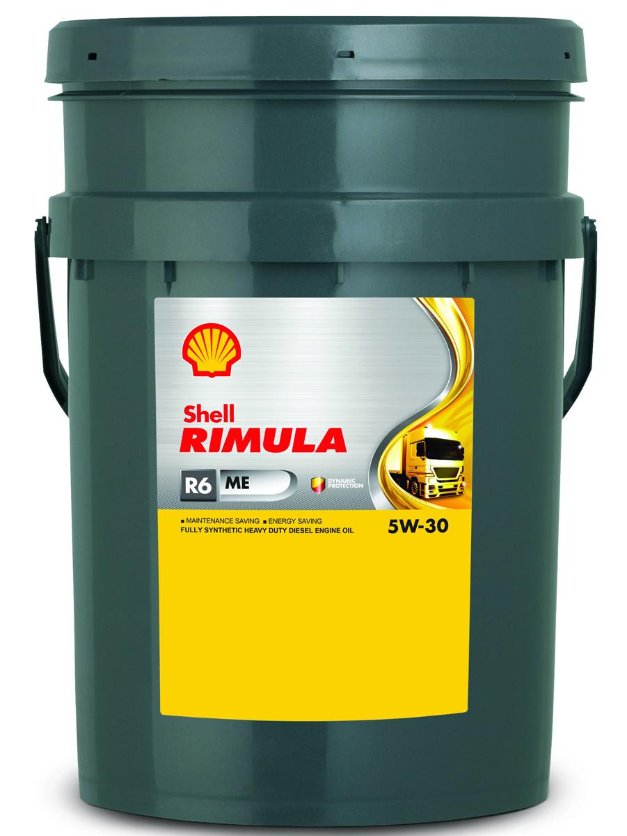 Масло моторное Shell для дизельных двигателей Rimula R6 ME 5W/30 (E4, 228.5), 20 л цена