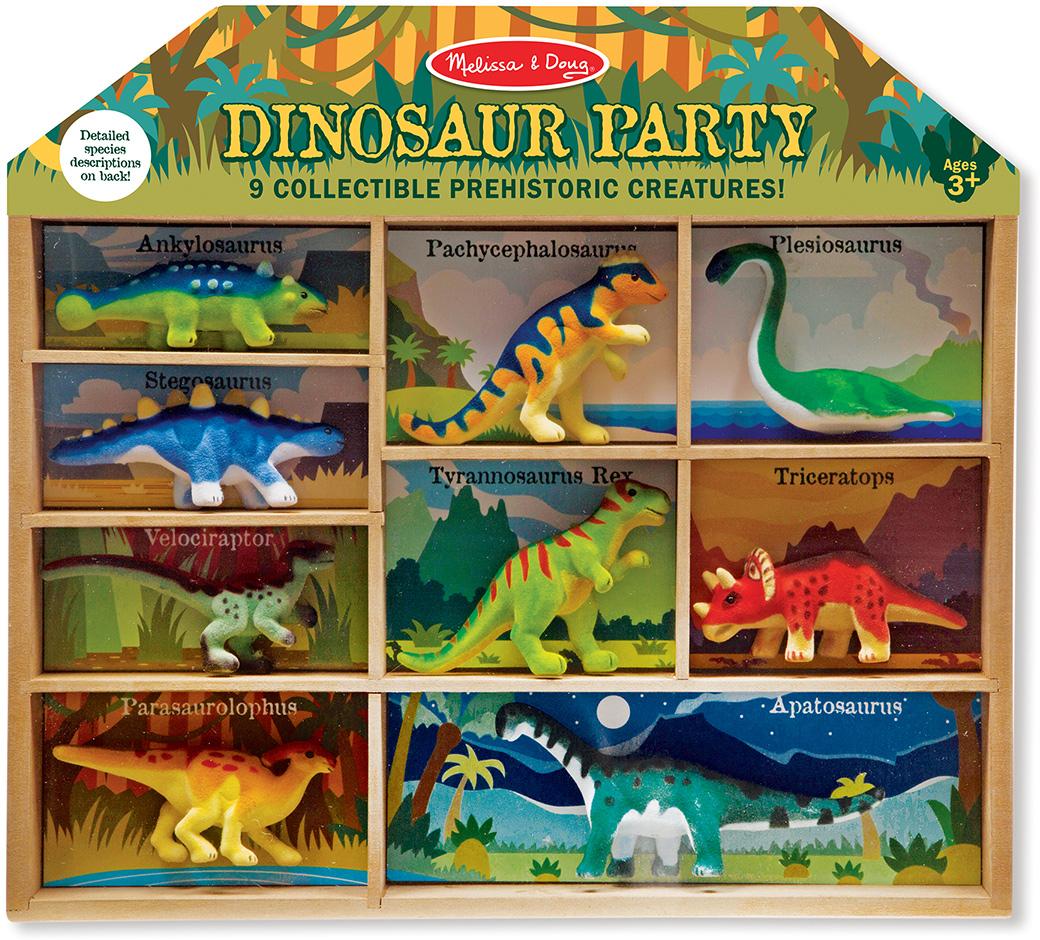 Melissa & Doug Классические игрушки Набор динозавров набор наклеек melissa