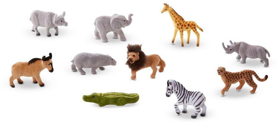 Melissa & Doug Классические игрушки Фигурки животных Сафари