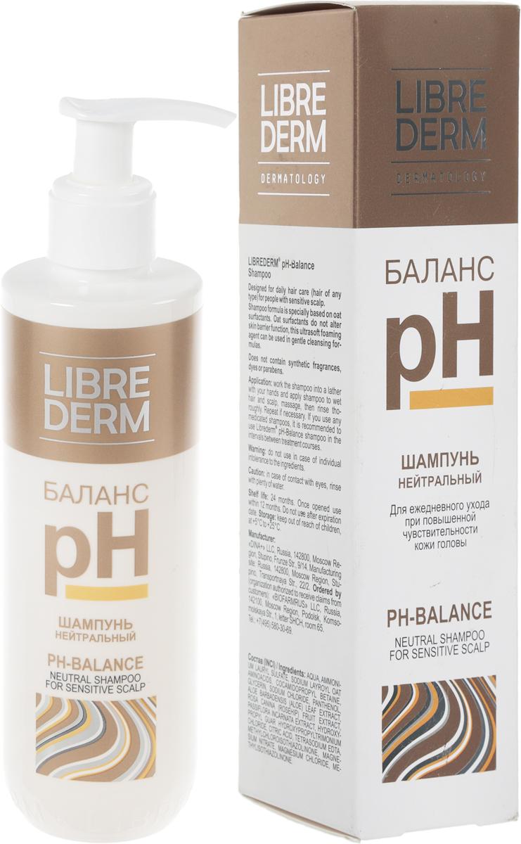 """Librederm Шампунь """"pH-Баланс"""", для чувствительной кожи головы, 250 мл"""