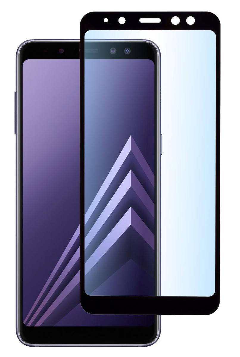 Защитное стекло Skinbox Full Screen для Samsung Galaxy A8/A5 (2018), Black brand new a5 lcd screen with touch screen digitizer for samsung galaxy a5 a500 a500f a500fu a500m a500y a500fq lcd display