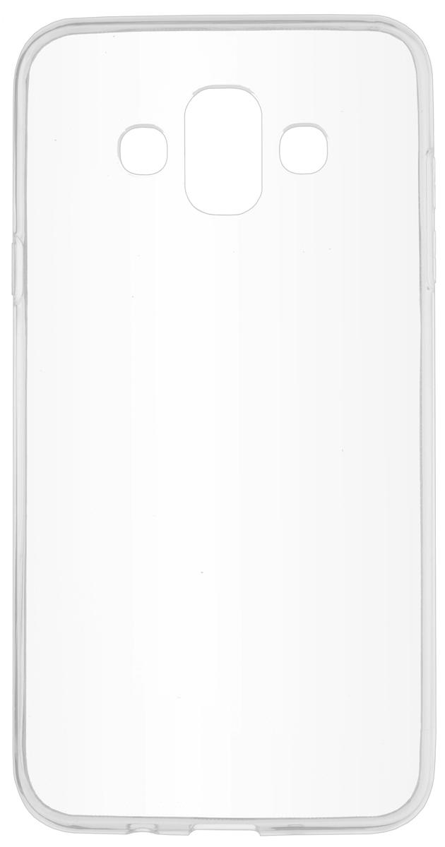 Чехол Skinbox Slim Silicone для Samsung Galaxy J7 Duo (2018), Transparent чехол защитный skinbox samsung galaxy j7 prime galaxy on7 sm g600f