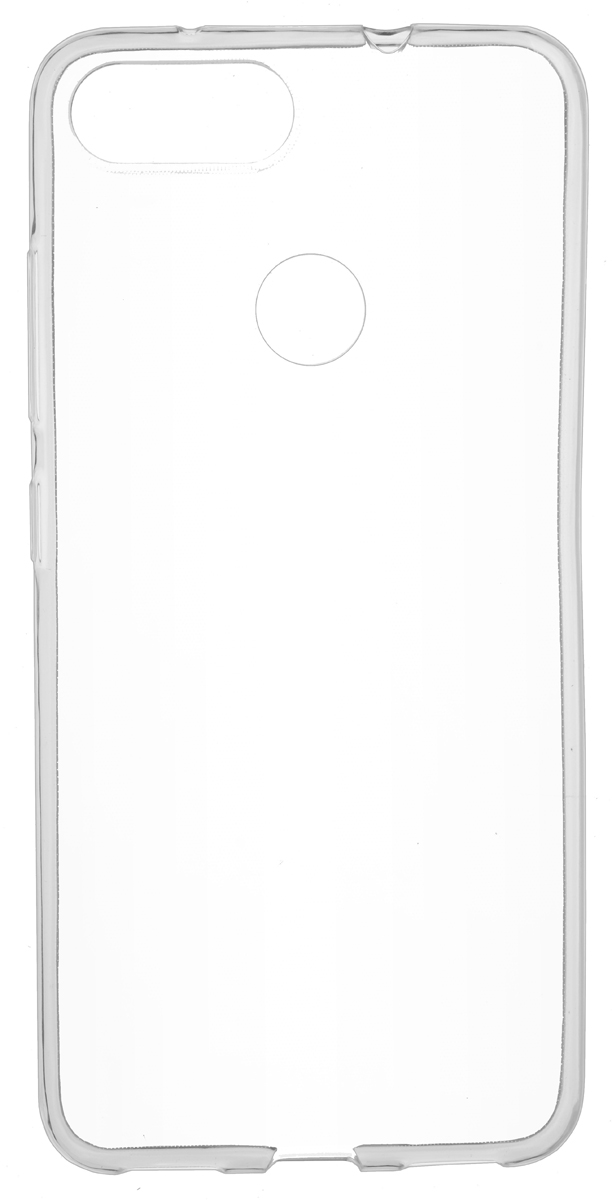 Чехол Skinbox Slim Silicone 4People для ASUS ZenFone Max Plus (M1) ZB570TL, Transparent skinbox 4people чехол для asus zenfone 4 a450cg white