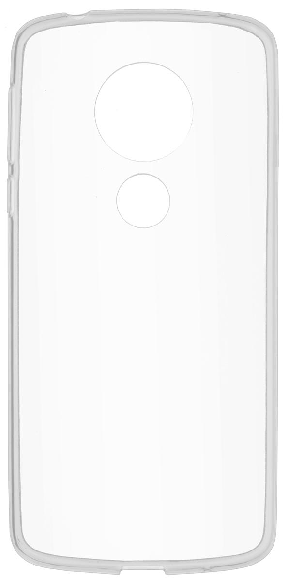 Чехол Skinbox Slim Silicone для Motorola Moto E5, Transparent смартфон motorola moto e5 plus 32gb золотой