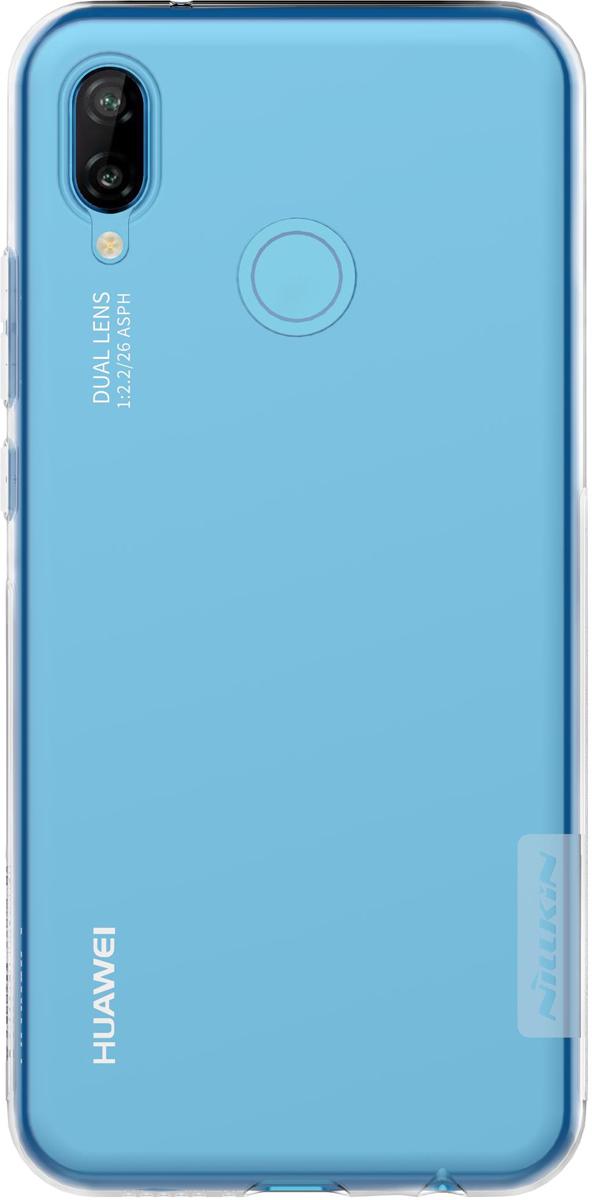 Nillkin Nature TPU Case чехол для Huawei P20 Lite, White nillkin nature tpu case чехол для iphone 6 plus