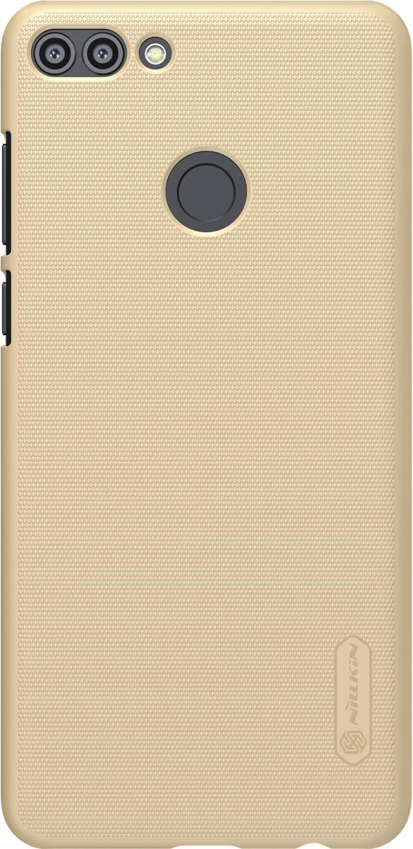 Чехол Nillkin Super Frosted Shield для Huawei Enjoy 8 Plus/Y9 (2018), Gold защитный чехол nillkin super frosted shield для xiaomi mi 9 gold