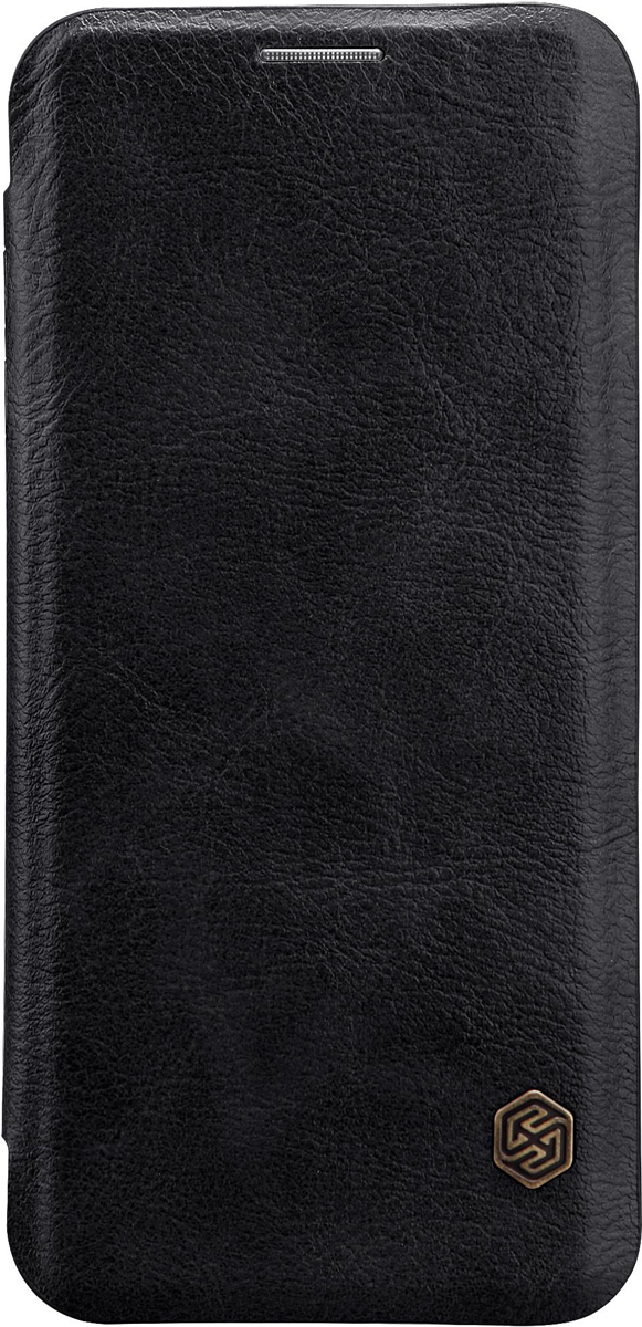 Чехол Nillkin Qin Leather Case для Samsung Galaxy S9 Plus, Black nillkin чехол nillkin qin leather case для apple iphone 7