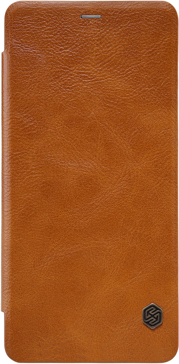 Чехол Nillkin Qin Leather Case для Samsung Galaxy A5 (2018)/A8 (2018), Brown чехол prime book для samsung galaxy a5 2018 a8 2018 black