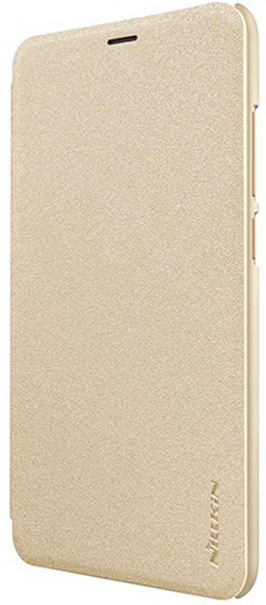 Чехол Nillkin Sparkle Leather Case для Xiaomi Redmi 5, Gold цена и фото