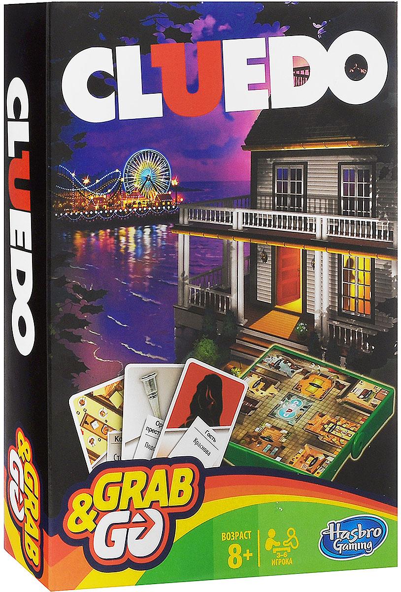 Hasbro Games настольная игра Клуэдо, дорожная версия hasbro игра cluedo классическая детективная other games a5826 hasbro