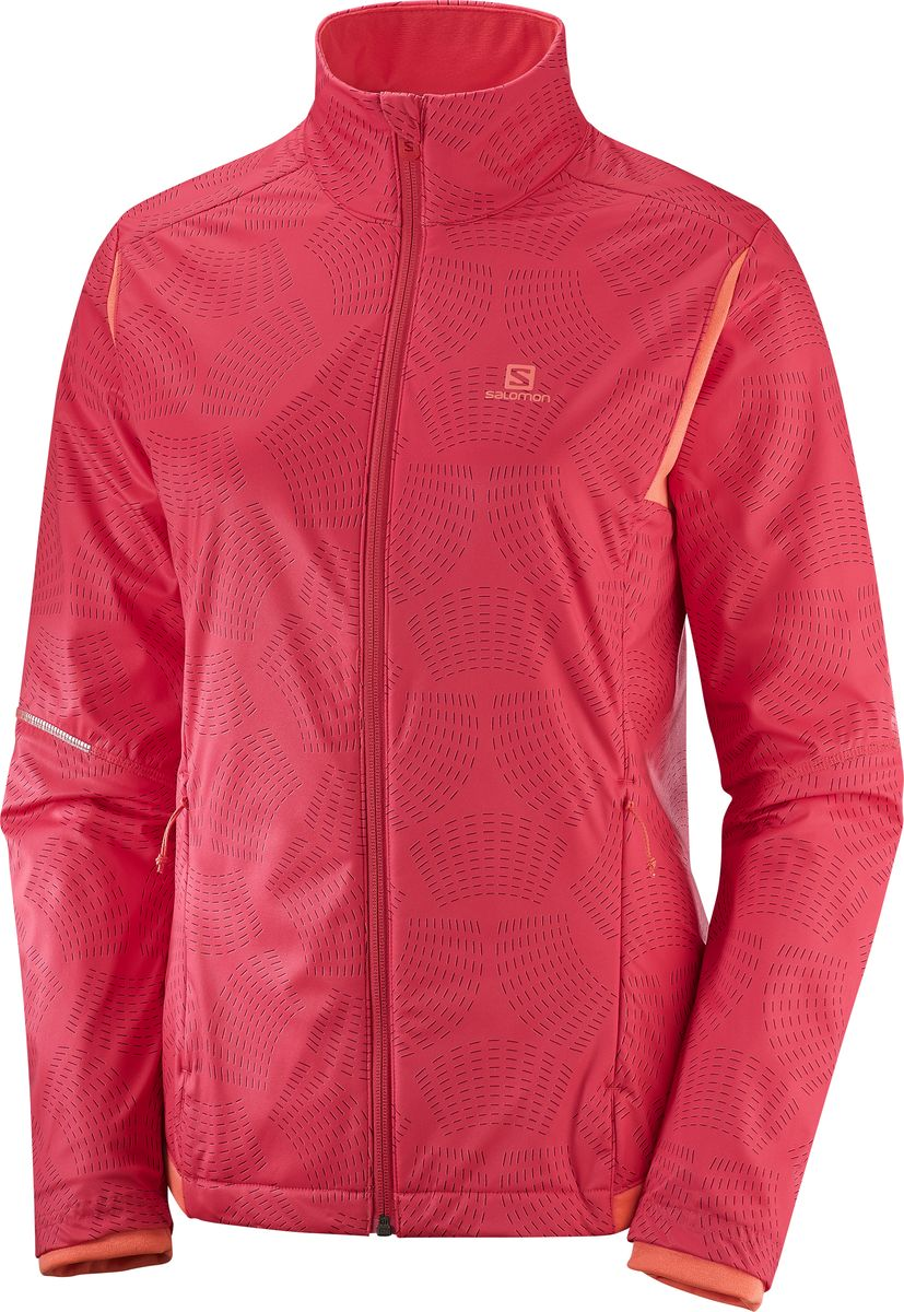 Куртка SalomonL40416800Представьте, что утепленная женская куртка AGILE WARM JACKET обеспечивает дополнительную подвижность или подвижность в куртке обеспечивает дополнительное утепление. Это незаменимый спутник для катания на лыжах, хождения на снегоступах или зимних прогулок. Внешний слой защищает от ветра, а внутренние слои дарят ощущение мягкости и вентиляции над базовым слоем.