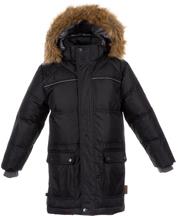 Куртка Huppa huppa huppa куртка lucas 50% пух 50% перо черная