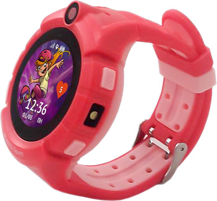 лучшая цена Умные часы Кнопка жизни Aimoto Sport, красный