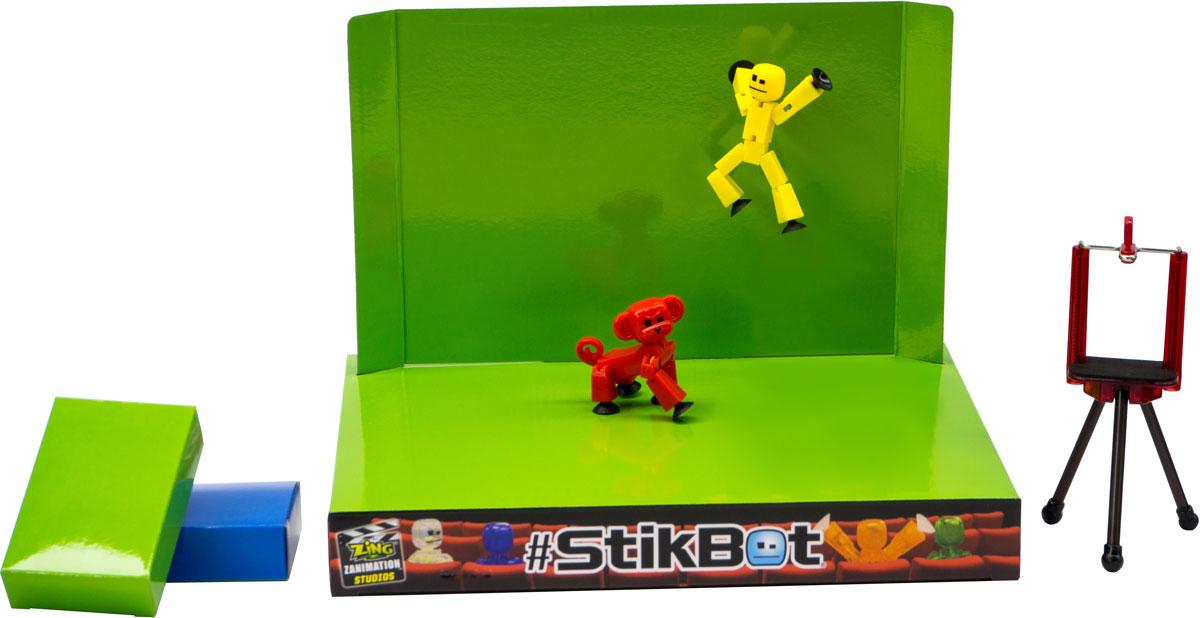 Фото - Stikbot Игровой набор Анимационная студия со сценой и питомцем в ассортименте stikbot анимационная студия pro