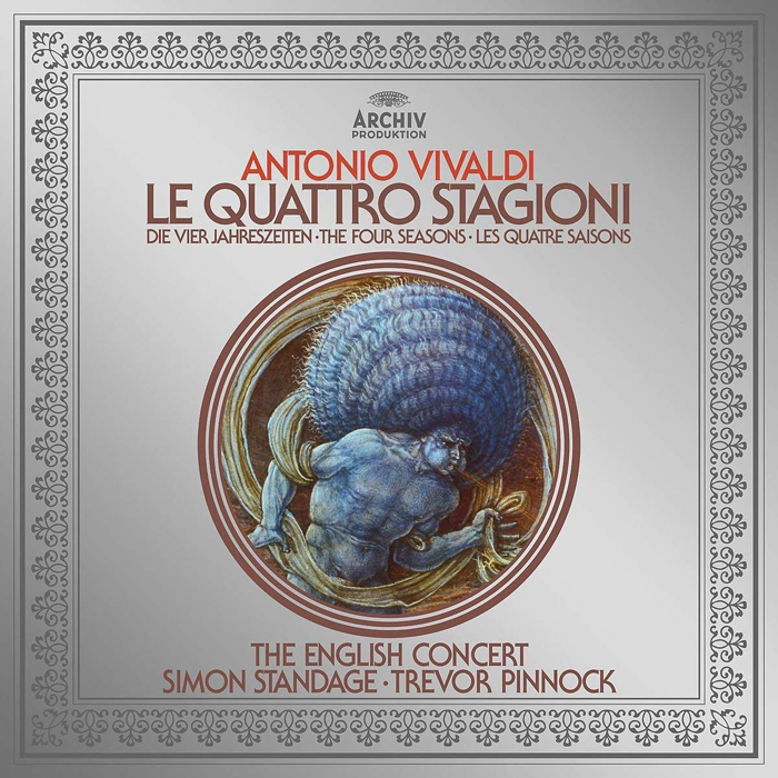 Тревор Пиннок Trevor Pinnock. Vivaldi. The Four Seasons (LP) vivaldi vivalditrevor pinnock the four seasons
