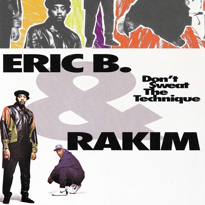 Eric B. & Rakim Eric B. & Rakim. Don't Sweat The Technique (2 LP) eric antoine bordeaux