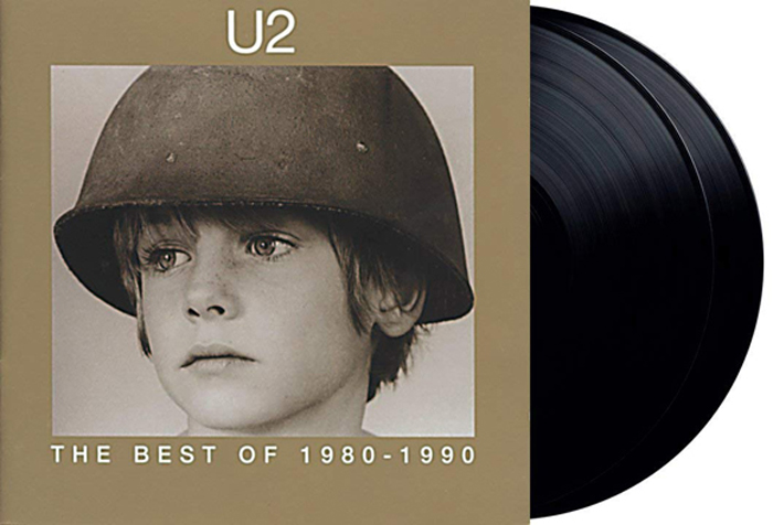 U2 U2. The Best Of 1980-1990 (2 LP) cd u2 the best of 19801990