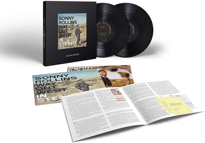 Сонни Роллинз Sonny Rollins. Way Out West (2 LP) сонни роллинз орнэт коулмен рой харгрув джим холл рассел мэлоун sonny rollins road shows vol 2