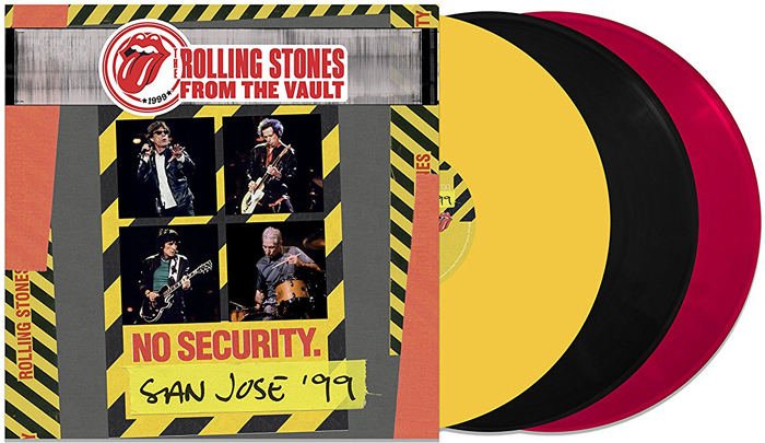 The Rolling Stones The Rolling Stones. From The Vault. No Security - San Jose 1999 (LP) rolling stones the from the vault live in leeds 1982 dvd 2 cd