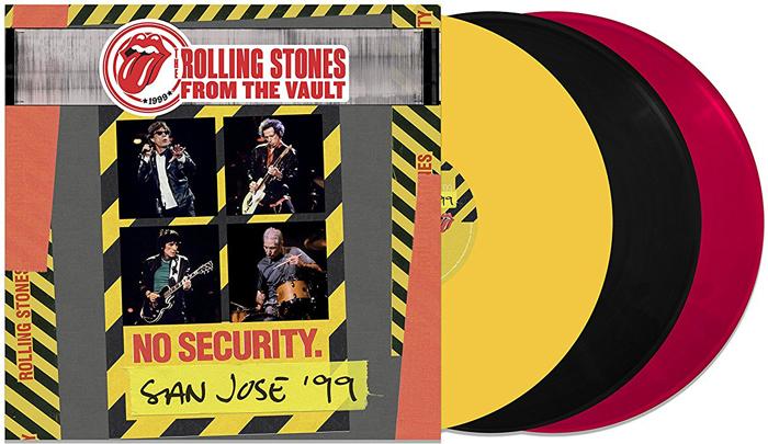The Rolling Stones The Rolling Stones. From The Vault. No Security - San Jose 1999 (LP) rolling stones rolling stones rolling stones in mono 16 lp