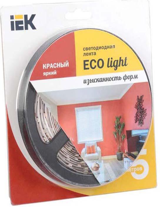 Светодиодная лента Iek лента светодиодная iek eco led lsr 3528r60 4 8 ip20 12v lsr1 6 060 20 1 05