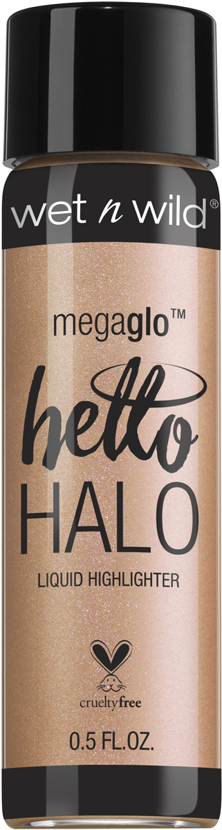 Wet n Wild Хайлайтер жидкий Megaglo Liquid Highlighter, тон Guilded Glow, E306b wet n wild корректор жидкий photo focus concealer тон medium tawny 5 2 г