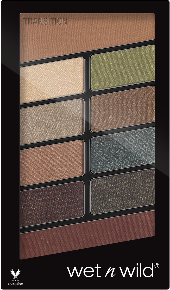 Wet n Wild Палетка теней для век Color Icon 10 Pan Palette (10 Оттенков), тон Comfort Zone, E759
