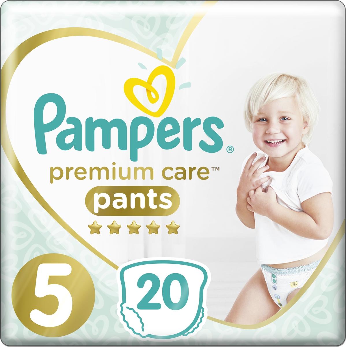 Pampers Подгузники-трусики Premium Care Pants для мальчиков 12-17 кг (размер 5) 20 шт