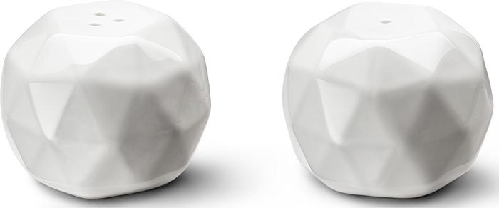 Набор для специй Apollo Cute, цвет: белый, 2 предмета набор солонка перечница royal bone china набор солонка перечница