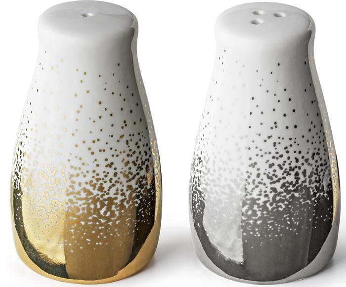 Набор для специй Apollo Magic, цвет: серебрянно-золотой, 2 предмета набор для специй magic home набор для специй