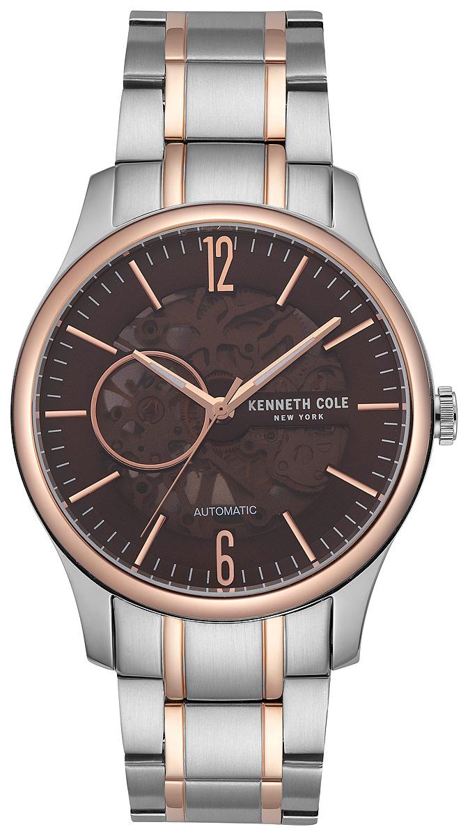 Наручные часы мужские Kenneth Cole Automatic, цвет: серебристый. KC50224004 все цены