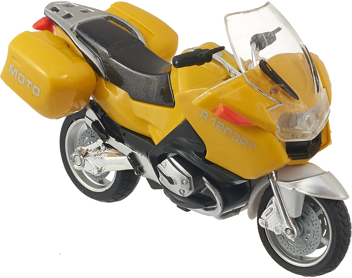 ТехноПарк Мотоцикл Туризм цвет желтый туризм дании