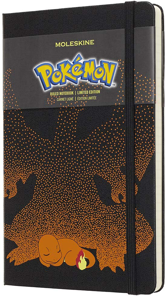 Moleskine Блокнот Pokemon Large Limited Edition Charmender 240 листов в линейку