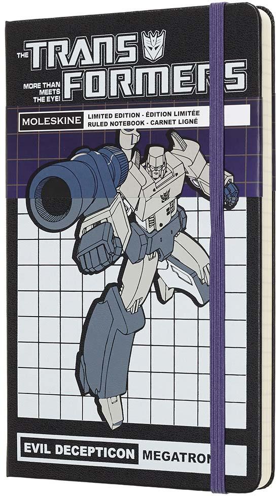Moleskine Блокнот Transformers Large Limited Edition Megatron 240 листов в линейку